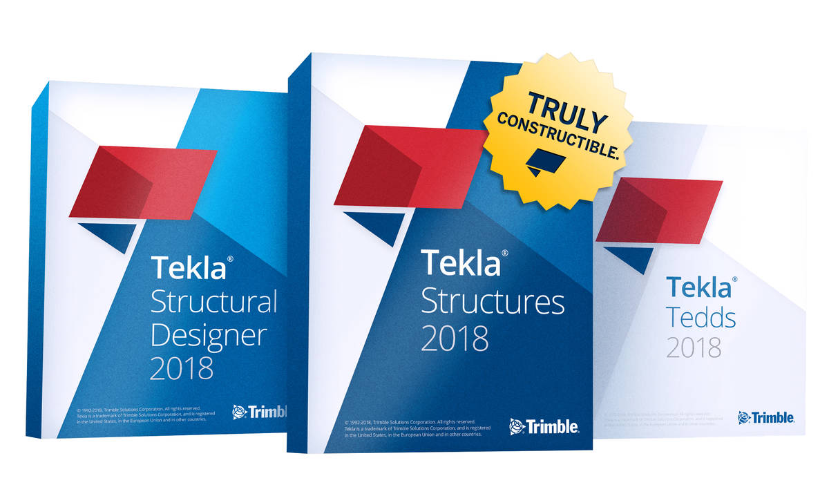 Trimble lança as soluções do software BIM Tekla 20182