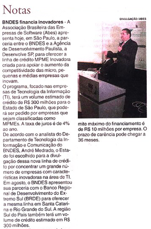Clipping BNDES parte 1