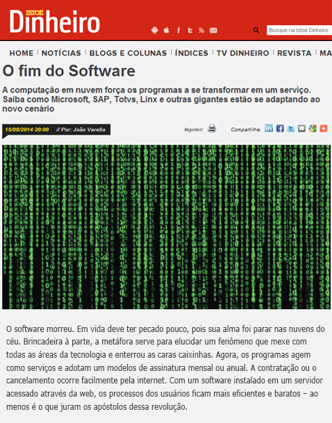 Clipping O fim do Software
